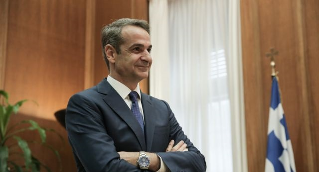 meeting; συνάντηση; Kyriakos Mitsotakis; Κυριάκος Μητσοτάκης; PM's office; Greek Parliament; Βουλή; parliament;